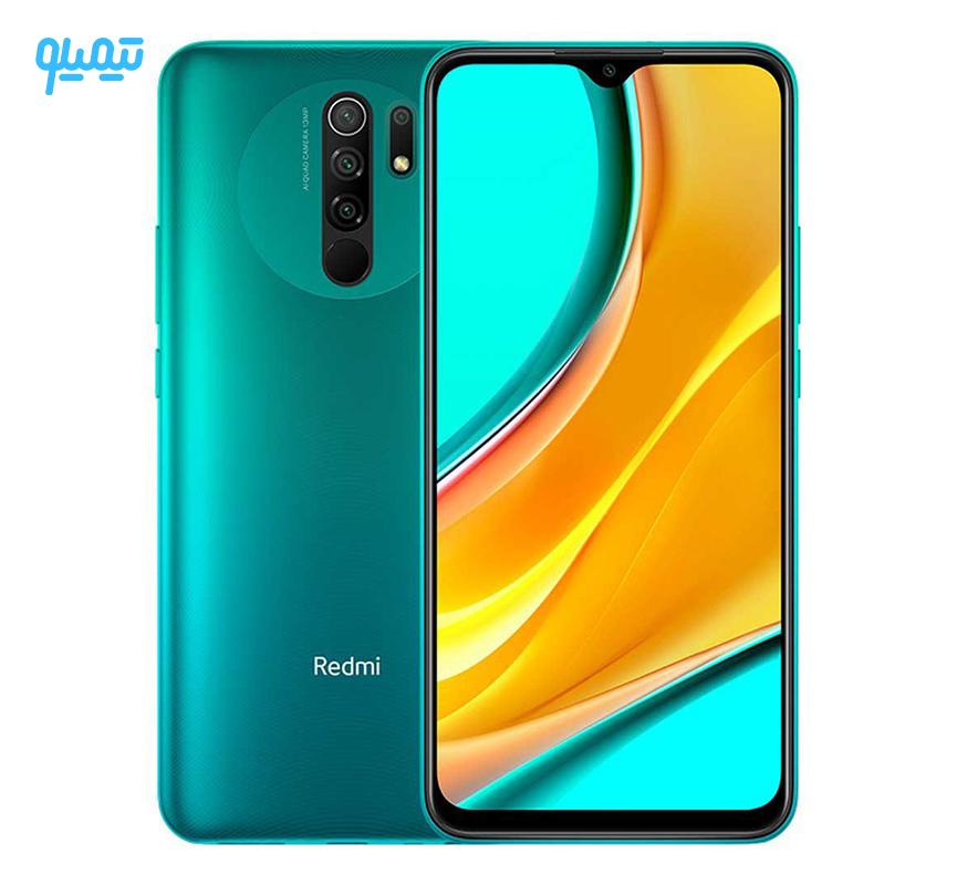 گوشی موبایل شیائومی مدل Redmi 9 ظرفیت 64 گیگابایت رم 4 گیگابایت