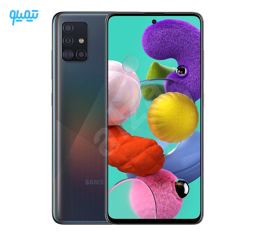 گوشی موبایل سامسونگ مدل Galaxy A51 ظرفیت 128 گیگابایت رم 6 گیگابایت
