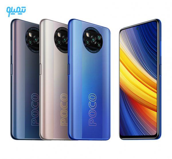 گوشی موبایل شیائومی مدل poco X3 pro ظرفیت 128 گیگابایت و رم 6 گیگابایت