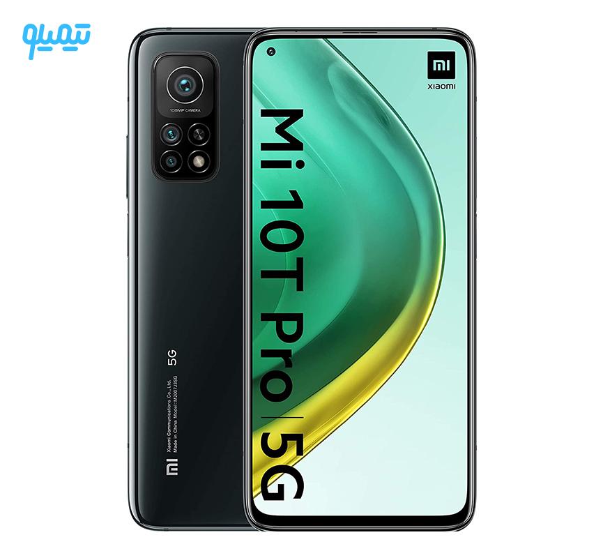 گوشی موبایل شیائومی مدل Mi 10T PRO 5G ظرفیت 256 گیگابایت رم 8 گیگابایت