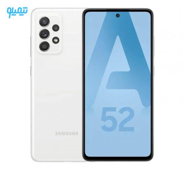 گوشی موبایل سامسونگ مدل Galaxy A52 4G ظرفیت 128 گیگابایت و رم 8 گیگابایت